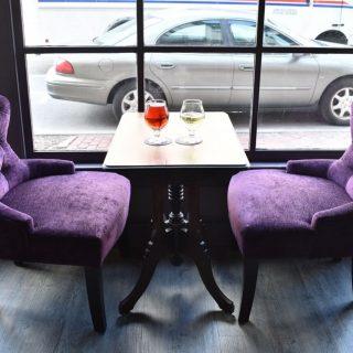 3-Purple Chairs
