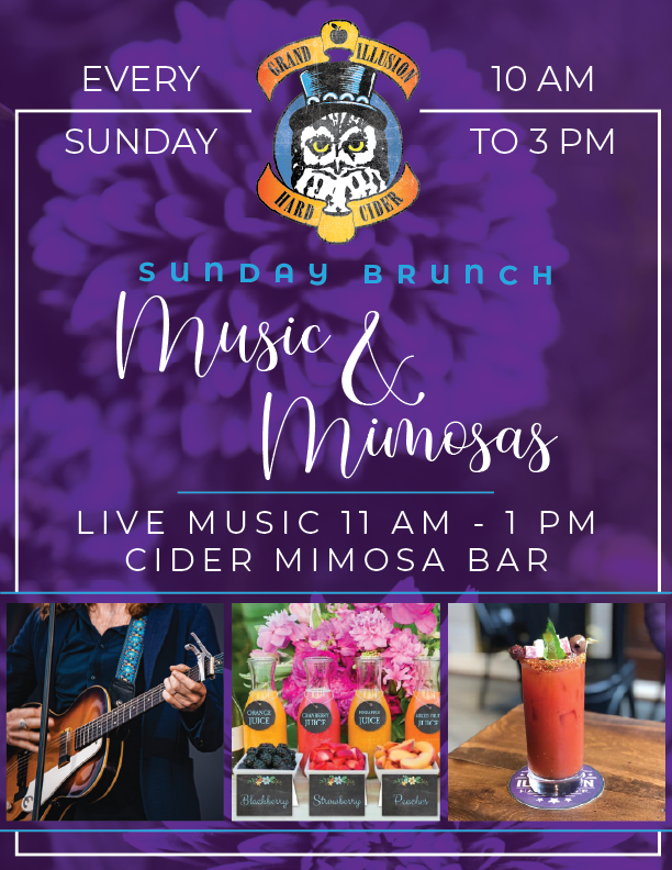 SONGS & CIDER to MUSIC & MIMOSAS